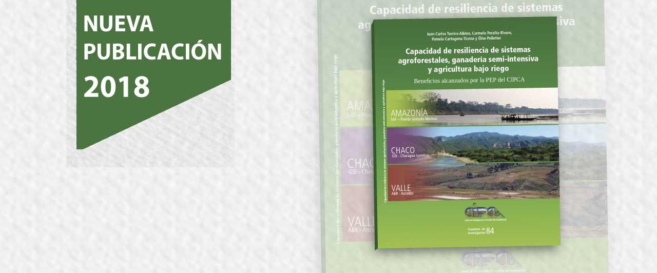 Capacidad de resiliencia de sistemas agroforestales, ganadería semi-intensiva y agricultura bajo riego
