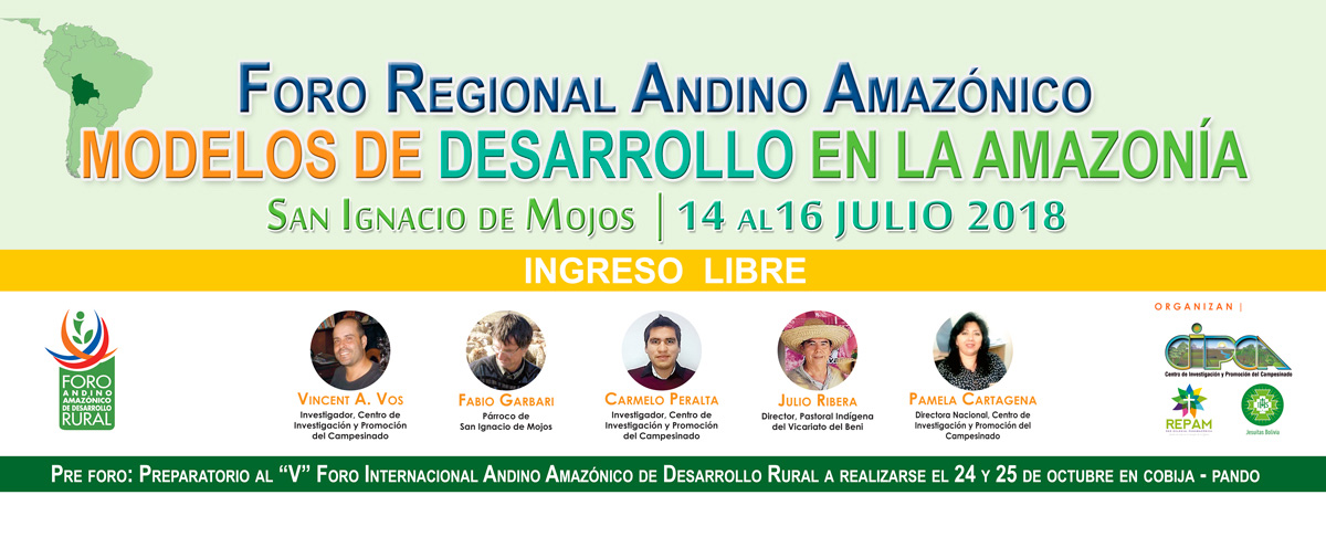 FORO REGIONAL ANDINO AMAZÓNICO