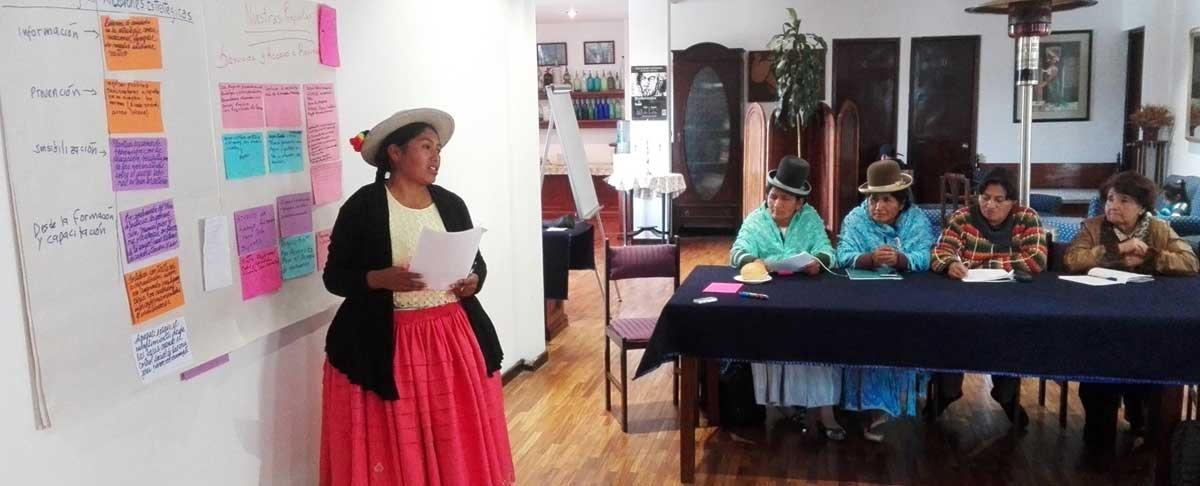 Inician proceso de construcción de la agenda política departamental desde las mujeres