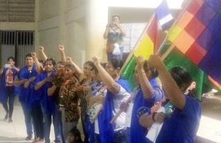 Campesinas indígenas originarias de Pando Bartolina Sisa definieron una agenda para las mujeres rurales del departamento