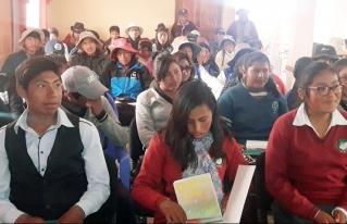 En San Andrés de Machaca socializan política municipal de la juventud y conforman el Consejo Municipal de la juventud