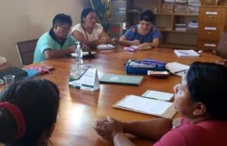 Asociación de Mujeres Recolectoras de Cusi expuso su problemática al Concejo Municipal de El Puente