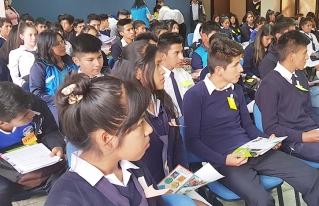 Jóvenes de Sacaba proponen recuperar la conexión con la naturaleza