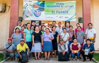 Actores del municipio El Puente sistematizan su experiencia en la formulación de su Carta Orgánica
