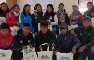 Inició proceso de formación de liderazgos de jóvenes en San Pedro de Totora