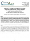 Evaluación de la capacidad de resiliencia de sistemas de producción agroforestales, agricultura bajo riego y ganadería semi intensiva