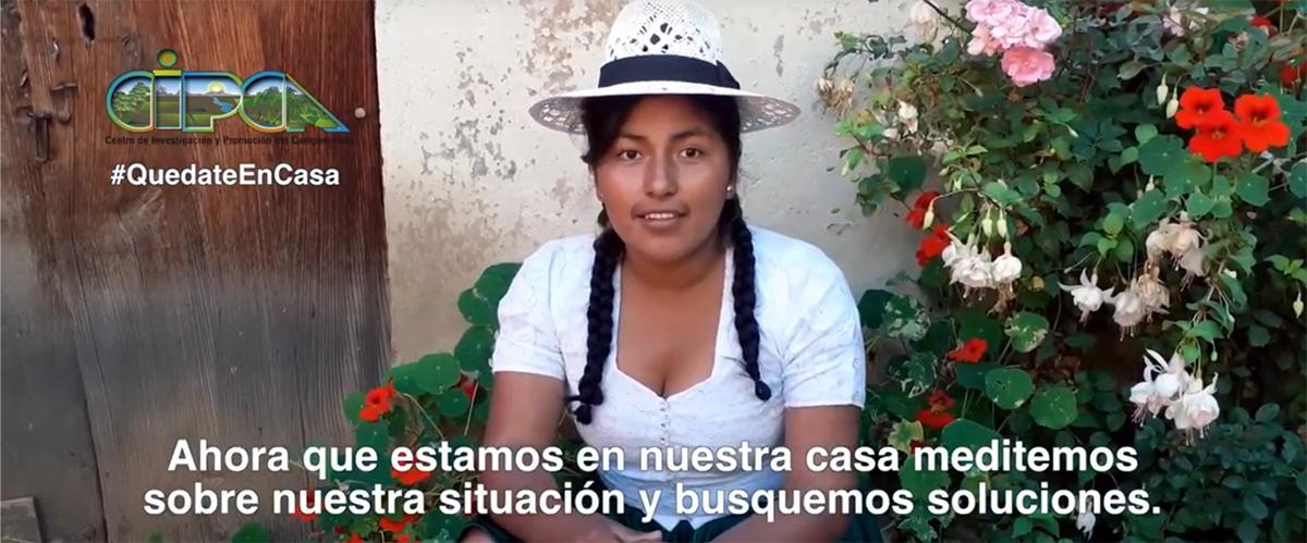 Video cuidados frente al COVID-19 en quechua