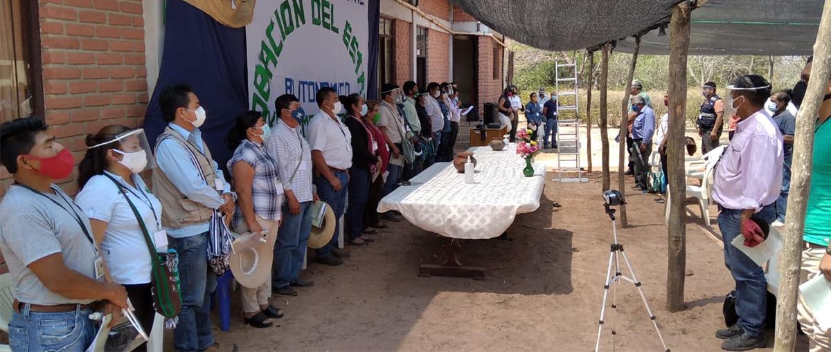 Se aprobó el Estatuto de Autonomía Indígena Guaraní Kereimba Iyaambae