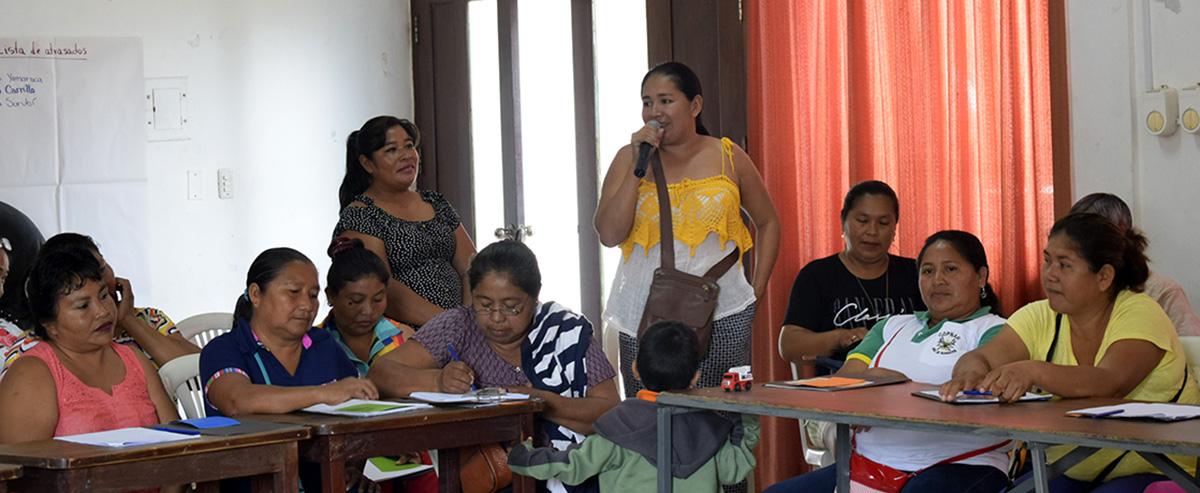 La participación política de mujeres indígenas se encuentra en riesgo