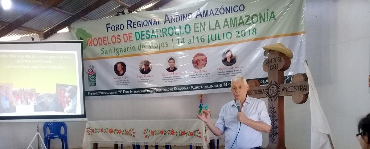 Pre Foro Andino Amazónico: El General de los Jesuitas se compromete a elevar la voz de los indígenas ante el Papa Francisco