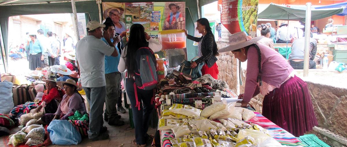 Productores de Torotoro muestran su potencial agroecológico en la IX Feria productiva y turística