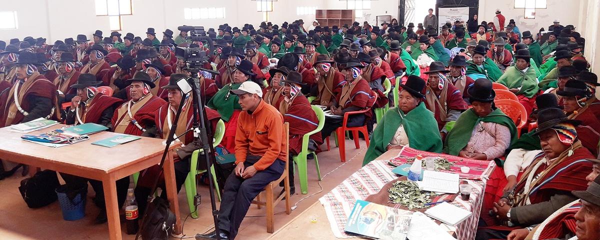 Promueven proceso de desarrollo económico productivo en Taraco