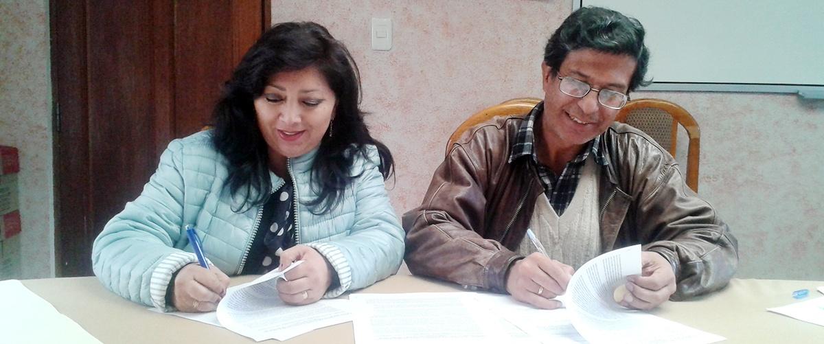 Acuerdo de cooperación interinstitucional entre el Instituto de Ecología de la UMSA y el CIPCA