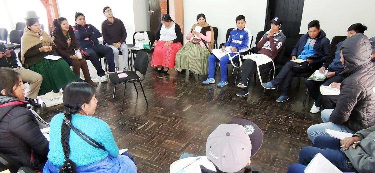 Jóvenes rurales y urbanos plantean propuestas para el ejercicio de sus derechos políticos y económicos