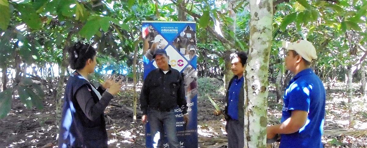 Promotores Agroforestales del norte Amazónico acceden a certificación de competencias ocupacionales