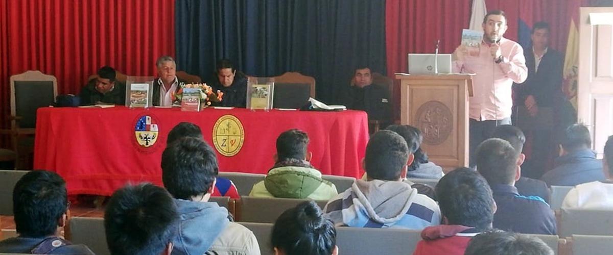 CIPCA y la Facultad Integral Defensores del Chaco de la USFX firmaron un convenio de investigación aplicada