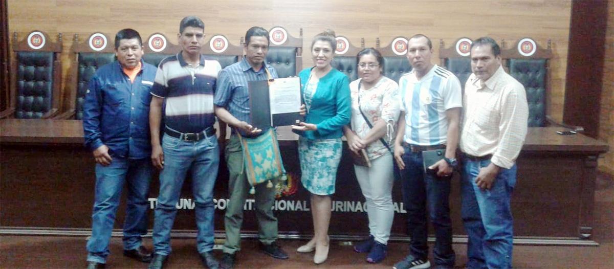 Autonomía Indígena Guaraní Kereimba Iyambae logra la Declaración Constitucional Parcial de Su Estatuto Autonómico