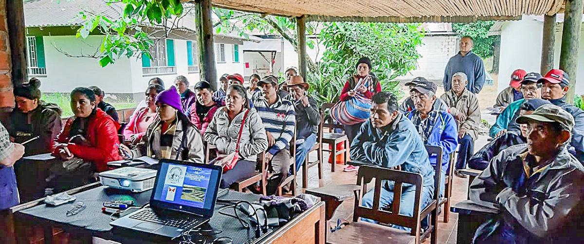 UMSS certifica a piscicultores campesinos e indígenas en cultivo y manejo de peces tropicales