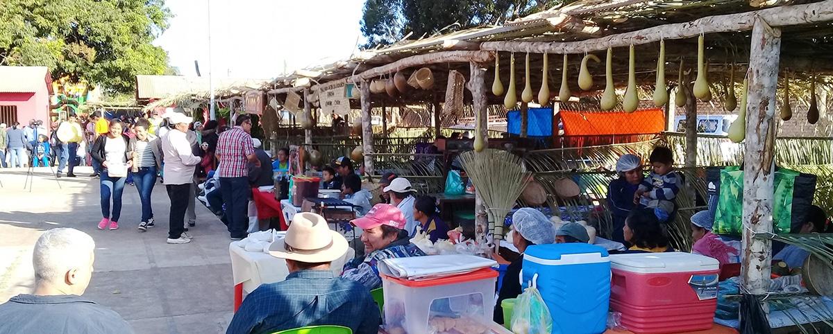 El cacao nativo amazónico y el chivé destacaron en la Feria de la Tradición Baureña en Beni