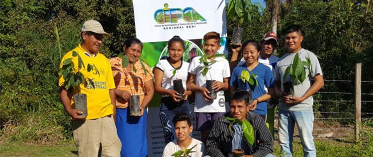 Viveros de cacao, un proyecto que abre nuevas puertas a la juventud de Bermeo en Beni