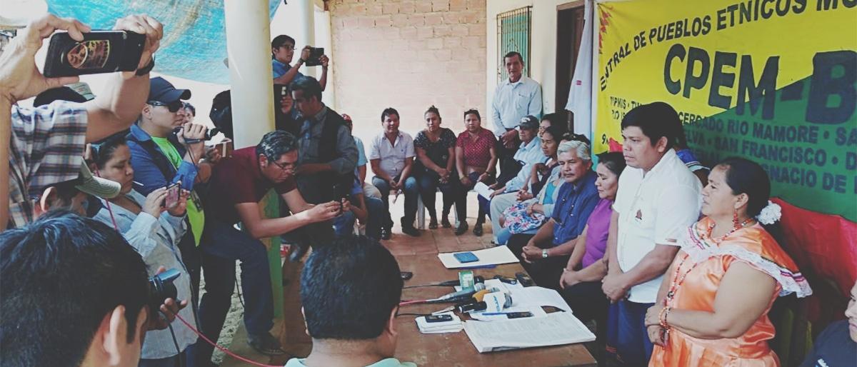 Saneamiento de tierras, modificación del PLUS, represión en Chaparina, participación política son temas prioritarios para la CPEM-B
