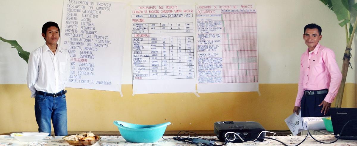 Jóvenes del Territorio Indígena Multiétnico del Beni iniciaron la defensa de sus proyectos como facilitadores comunitarios
