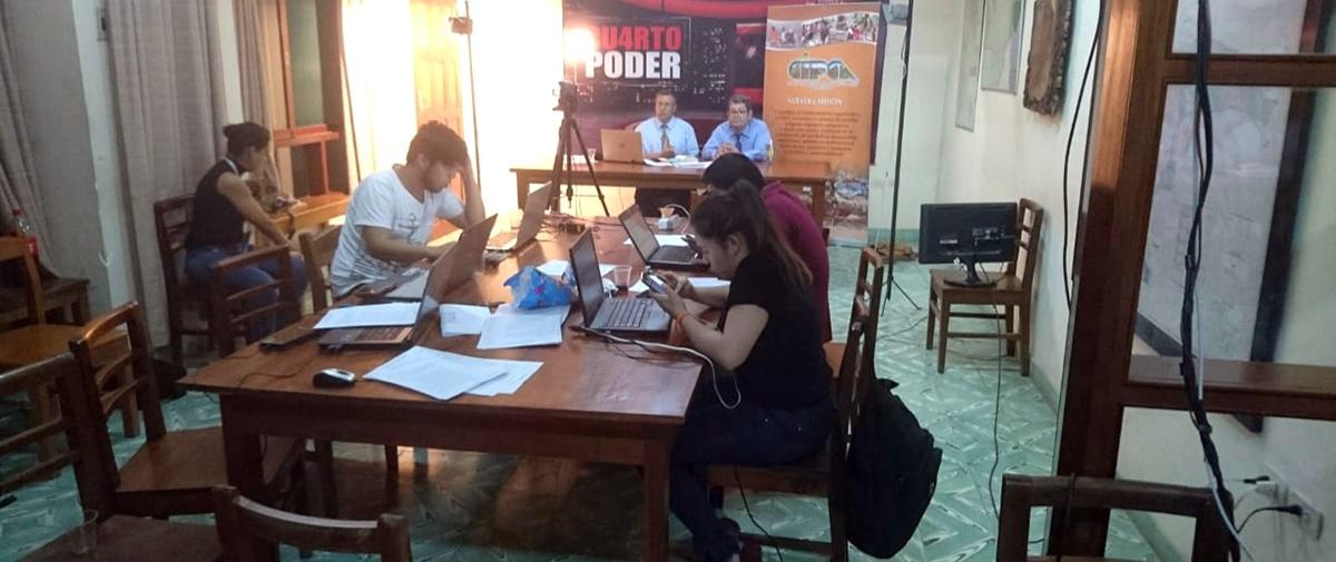 Vigilancia ciudadana y recuento rápido de votos en la jornada electoral en el municipio de Camiri