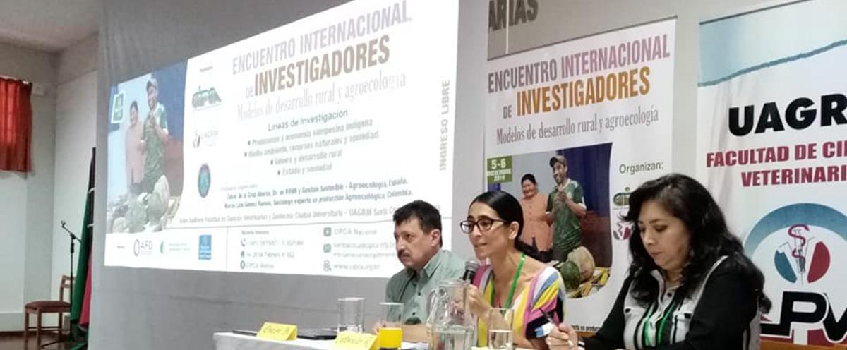 En Santa Cruz se realizó Encuentro internacional de investigadores y especialistas en agroecología
