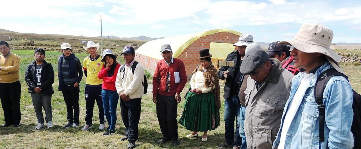 Líderes de municipios paceños y orureños proponen impulsar emprendimientos económicos alternativos