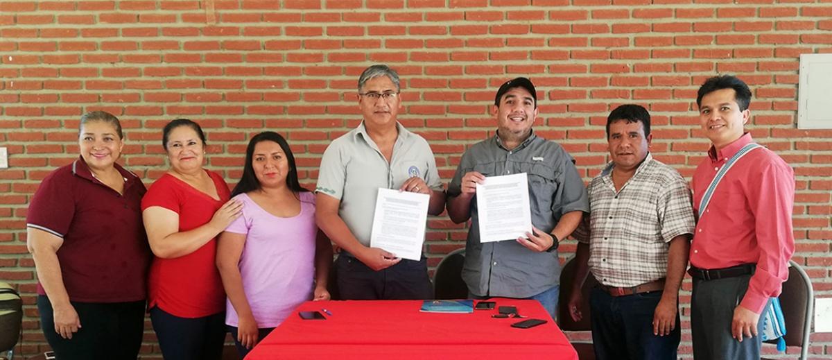 Unidad Académica Charagua y CIPCA Cordillera firman acuerdo para desarrollar curso de formación política y fortalecimiento del idioma guaraní