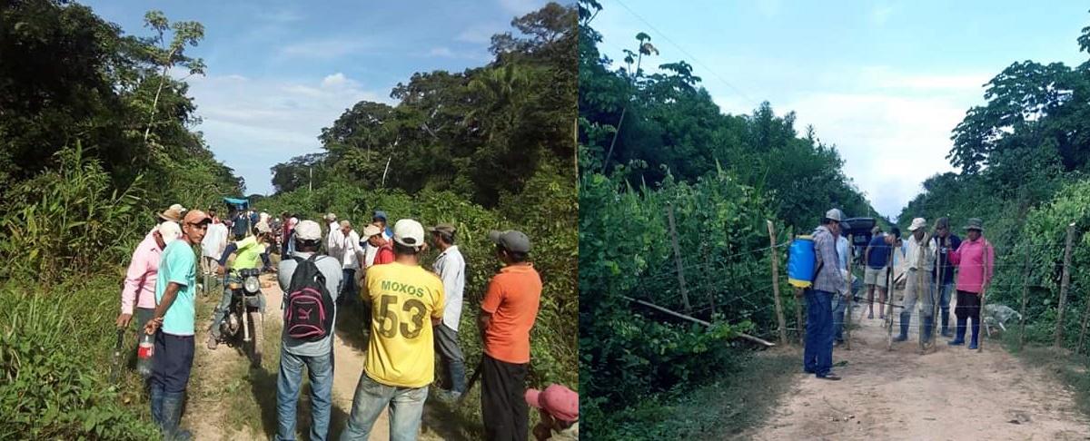 Ante incremento de casos, Territorios indígenas del Beni refuerzan medidas frente al COVID-19