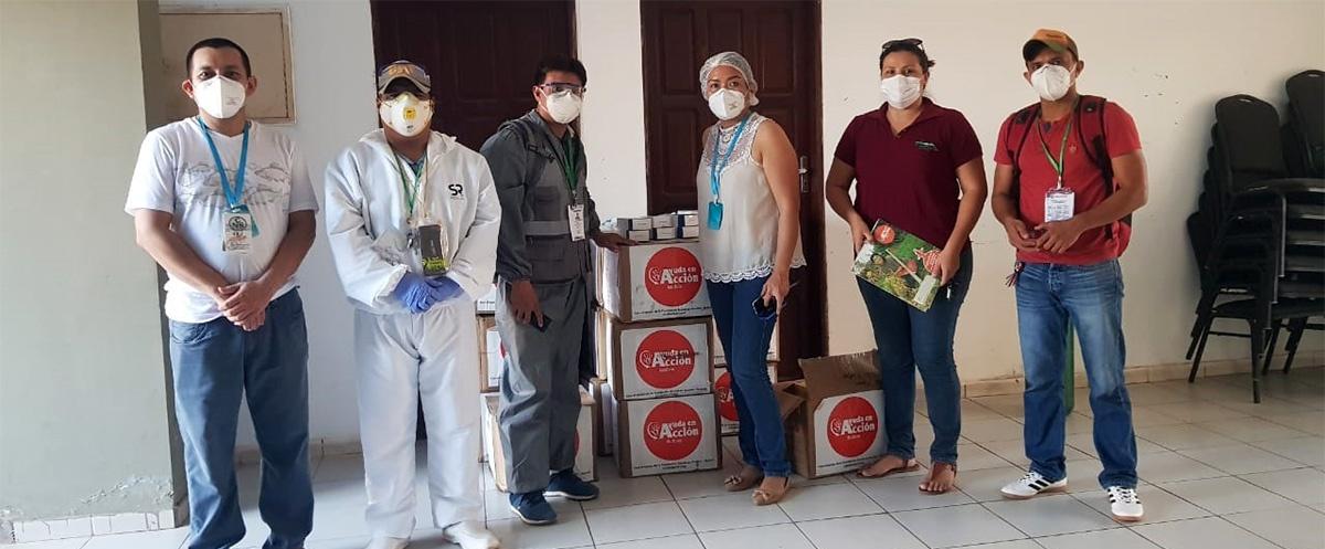 Trinidad y San Ignacio de Mojos reciben material de bioseguridad para enfrentar la crisis del covid-19