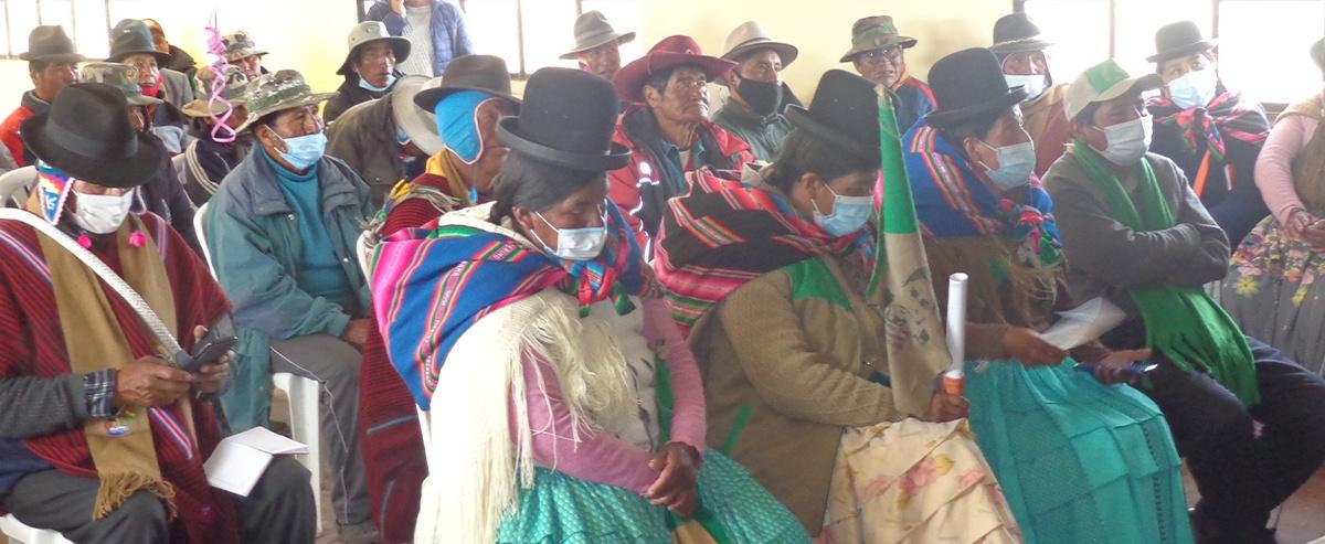 Candidatos de San Andrés de Machaca plantean propuestas para llegar al Gobierno Municipal