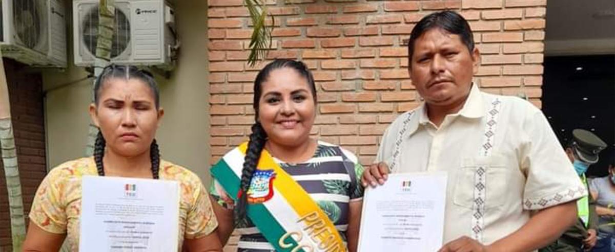 Acreditación Asambleístas de la Nación Indígena Gwrayú