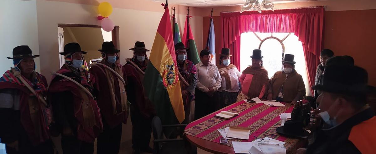 El municipio de San Andrés de Machaca conformó su comisión para la transición transparente de Autoridades Municipales