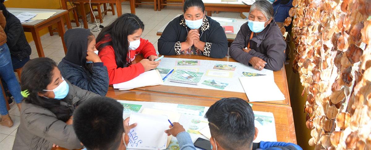 Jóvenes guaranís proponen la defensa de sus territorios frente al cambios climáticos