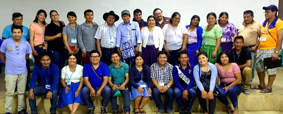 Autoridades y Organizaciones sociales intercambian experiencias en Gestión territorial.