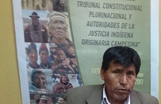 Corque Marka recibió la revisión constitucional parcial de su estatuto autonómico