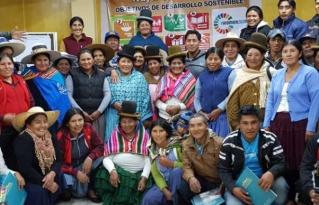 Organizaciones indígenas originarias analizan los alcances de la implementación de los ODS en Altiplano y Valles