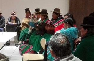 Productores del departamento de La Paz definieron propuestas para el Encuentro Nacional de Pequeños Productores