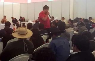 Pequeños productores convocados por el Pacto de Unidad demandan políticas de Estado para el fortalecimiento del sector