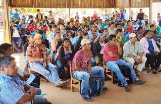Campesinos de Pando analizaron la propuesta de Ley Especial de Tierra y Territorio para el Norte Amazónico