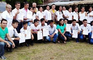 Líderes jóvenes del Territorio Indígena Mojeño Ignaciano forman parte de la nueva generación de facilitadores comunitarios
