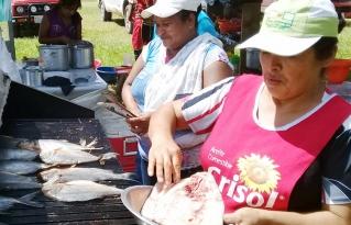 Se realizó 4ta feria del pescado en Ascensión de Guarayos por Semana Santa