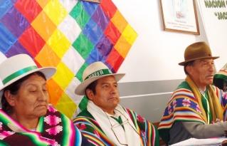 Nación Originaria Suyu Jacha Karangas retoma acciones para su fortalecimiento Organizativo