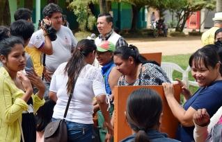 Mujeres indígenas y campesinas de la Amazonía sur compartieron sus experiencias en la I feria de energía alternativa y liderazgo