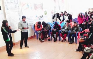 Jóvenes de taraco exigen mayor participación en espacios de toma de decisiones