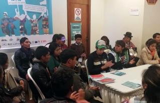 Jóvenes rurales y urbanos de Bolivia presentarán mañana viernes 16 de agosto agenda política de la juventud a los partidos políticos