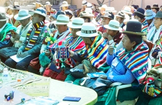 Naciones originarias de Oruro aprueban sus normas y procedimientos propios