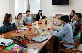 Jóvenes de Santa Cruz definen acciones para coadyuvar en la emergencia por los incendios en la Chiquitania